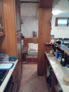 basement, bar and kitchen