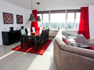 Lovely apartment near Centre & EXPO Antwerp + free private parking in garage
