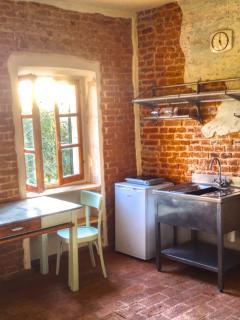 un angolo per preparasi la colazione o uno spuntino, un mini frigo per le vostre bevande