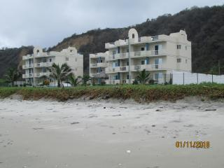 A view of the complex from the beach.