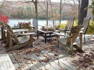 Enjoy an evening sitting around the Fire Pit eating S'mores!
