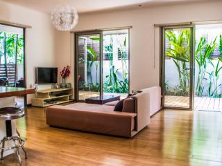 Modern LOFT style villa step from the best beach, Santa Teresa