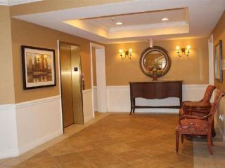 Foyer with elevator