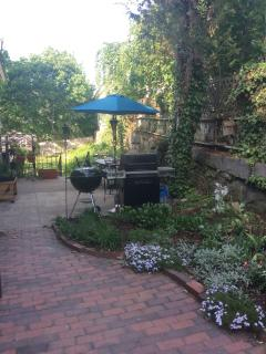 Have your breakfast out in the court yard patio.