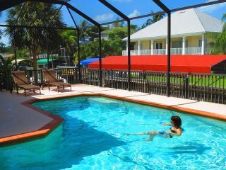 Heated Pool, Screen Pool Lanai area