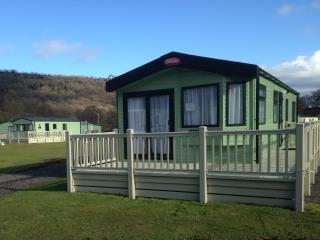 Swaleview caravan park, Static holiday home., Richmond