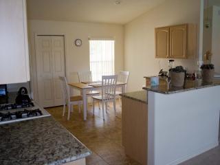 Kitchen with breakfast corner.