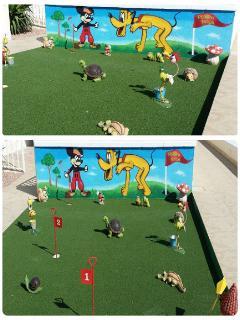 Children's Mini Golf.