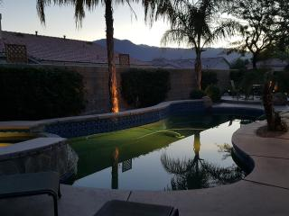 Majestic pool & jacuz residence for Coachella Fest, Palm Springs
