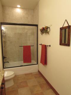 Full Master Bath.  Tub and Shower