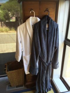 Bath Robes Provided