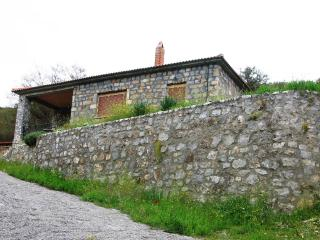 Stone house in traditional village, Calamata