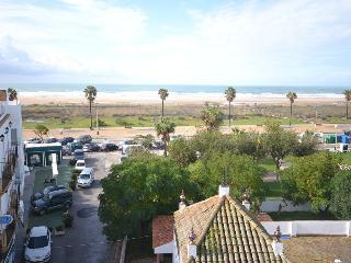 Conil playa en Carril de la Fuente, frente a la playa
