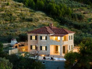 Luxury stone villa Diana near Split, Podstrana