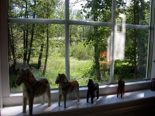 Skogstuga, komfortables Sommerhaus, Holsbybrunn