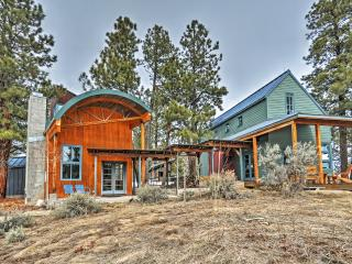 New Listing! 'Laybourne Mesa Retreat' One-of-a-Kind Placerville Villa w/Unique Modern Features, Copious Outdoor Space & Breathtaking Mountain Views - Sprawling Compound w/ Easy Access to Abundant Year-Round Recreation!