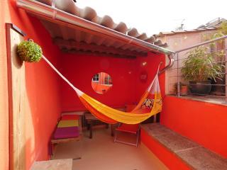 petite maison sous les toits avec grande terrasse