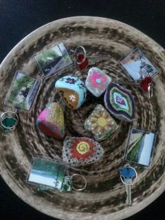 Before you leave your keys to say goodbye (boo!) paint a rock and leave it for community garden!