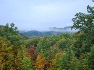 2BR Sevierville Cabin w/Hot Tub w/Smoky Mtn Views!