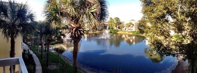 Resort lake.