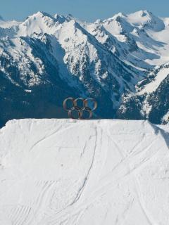 Enjoy winter sports at the Olympics!  Go skiing in the gorgeous Olympic mountains.