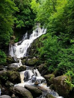 Torc Waterfall Killarney.      30 mins drive from the cottage.