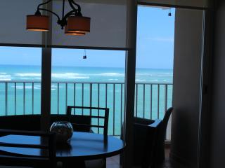 Contemporary Condado 1 Br  Beach & Oceanfront View