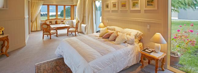 Master bedroom with 'sitting room', dressing room and ensuite with bath and shower