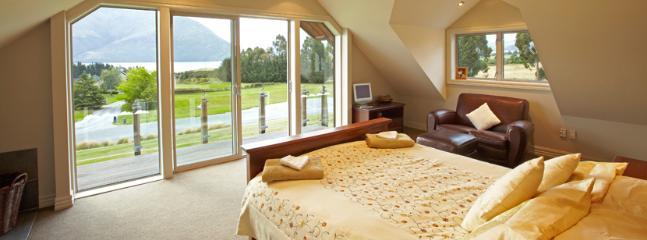 Loft bedroom with private balcony