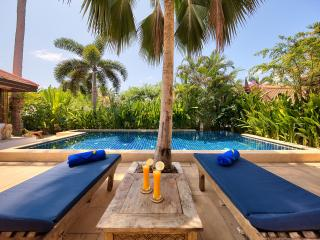 Baan Buaa, Beach side Villa, Samui Beach Village