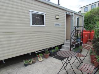 Lovely static caravan overlooking swanage bay, Swanage