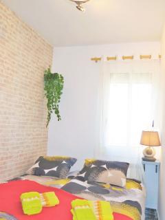 'bedroom II': 1 double bed, wardrobe