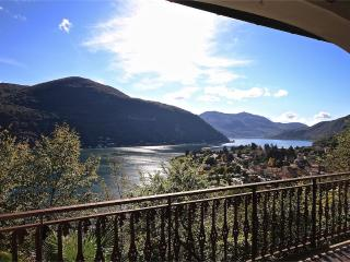 Villa with Great Lake Lugano View, Brusimpiano