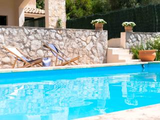 Double room pool&garden bbq&view Llull