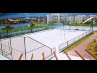 soccer court and sand volleyball