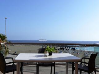 Apartamento con vistas al mar., Los Cristianos