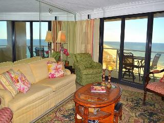 Elite, beachfront condo with 2 balconies on a Private Resort! Water views!