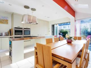 A contemporary four-bedroom family home in Chiswick., London