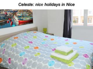 Celeste: Modern 1BR flat/terrace/Port/Sea/Beaches, Nice