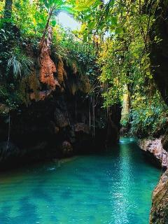 Charco Azul, 20min from the aprtm. Places Puerto Rico.