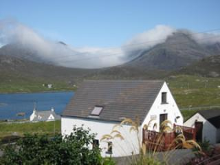 North Harris hills under low cloud