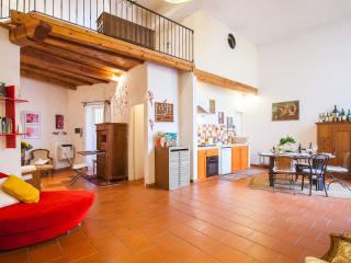 Loft with patio and florentin charm, Florence