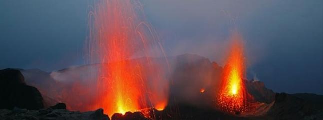 L'eruzione