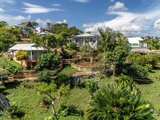 villa  Stefy , una casa inserita in un giardino endemico
