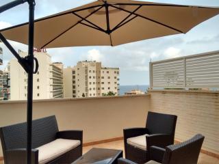 Plaza Mayor 2 bedroom sea view apartment
