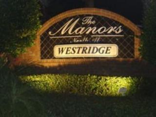 Welcome to The Manors in Westridge.