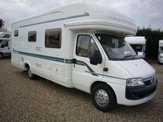6 Berth Auto Trail Cheyenne Motorhome For Hire