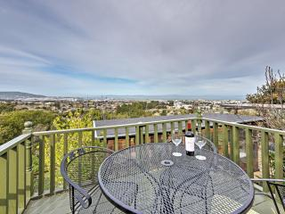 Sweet 1BR Millbrae Apartment w/Private Entrance, Wifi & Gorgeous Bay Views - 7 Minutes from SFO, Close to Golf Courses, Wineries & More!