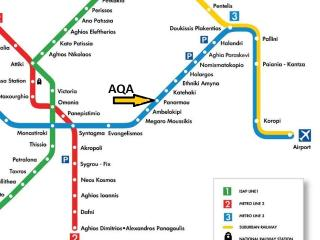 AQA on Athens Metro System