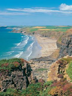Pembrokeshire Coast Path at you door step.